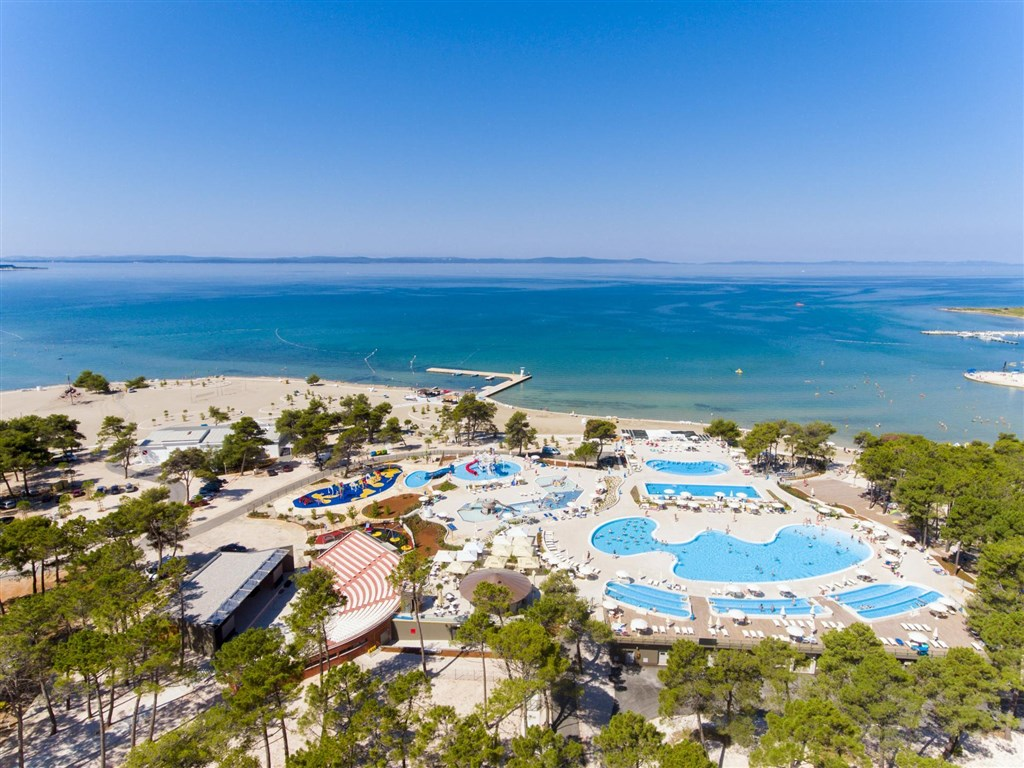 Apartmány ZATON HOLIDAY RESORT 4* - Ostrov Brač