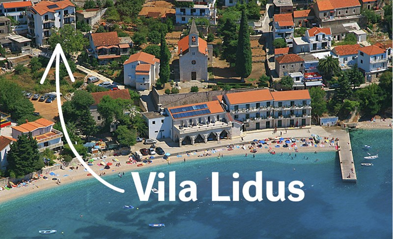Vila LIDUS - Ostrov Mljet