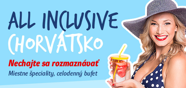 Chorvátsko All inclusive – All inclusive light